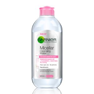 Гарниер Мицеллярная вода 3 в 1 для чувствительной кожи 400 мл