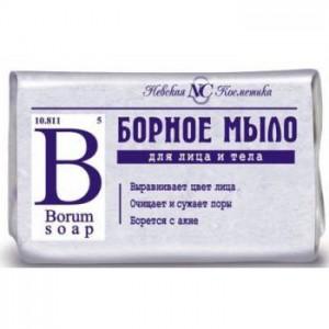 Борное мыло, Невская косметика, 90 гр