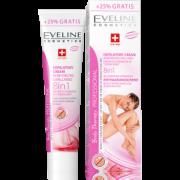 Крем для депиляции укрепляющий стенки капилляров 8в1 125мл Эвелин (Eveline)