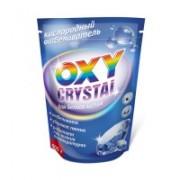 Кислородный отбеливатель Oxy crystal, для белого белья, 600 г. Отбеливатель для хлопчатобумажных, льняных, вискозных тканей. Применяется как при ручной стирке, так и в стиральных машинах. Удаляет пятна от кофе, чая, ягод, вина, фруктов
