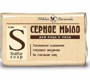 Серное мыло, Невская косметика, 90 грамм