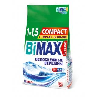 Бимакс для белого Белоснежные вершины 3 кг (Bimax)