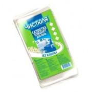 Чистюля салфетка для мытья пола (хлопок) прочная