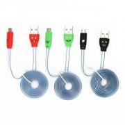 USB Кабель для зарядки смартфонов, 1м, 1А, 3цвета