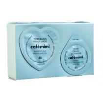 Фарфоровая маска для рук нежность и молодость кожи + постактиватор Le Cafe Mimi
