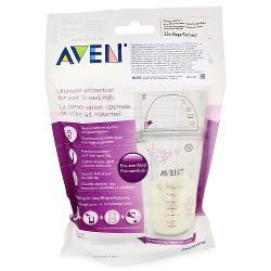 Пакеты Avent для хранения грудного молока 180 мл., 25 шт (Phillips Avent)