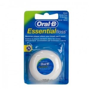 Зубная нить ORAL-B Essential floss вощеная, ментол 50м (Орал - Би)