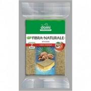 Губки кухонные натуральная фибра 2 шт DOMI (Доми)