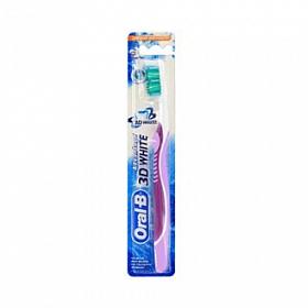 Oral B зубная щетка 3D White отбеливающая средняя (Орал Би)