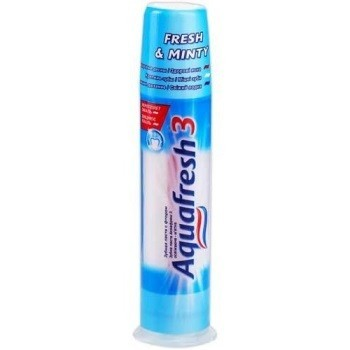 Aquafresh помпа освежающе-мятная (Аквафреш) 100 мл