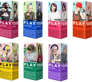 Коллекция цветного мелирования Эстель Play (Estel)