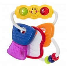 Развивающая игрушка Ключи, со световым эффектом 6+