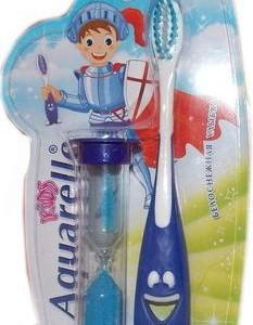 Зубная щетка Акварель + песочные часы 3+ (Aquarelle)