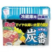 KOKUBO (Кокубо) Дезодорант поглотитель неприятных запахов, с древесным углём, для холодильника, 150 гр