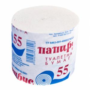 Туалетная бумага Папирус 55