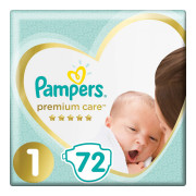Памперс премиум кеа 1 (Pampers Premium Care) 2-5 кг 72 шт