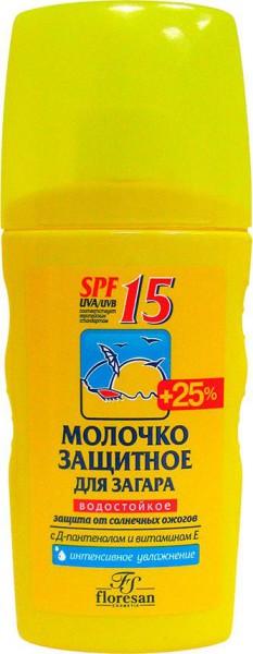 Молочко-Floresan-защитное-для-загара-SPF15
