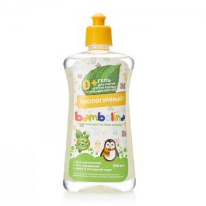 Гель Бамболина для мытья посуды и детских принадлежностей, 500 мл (Bambolina)