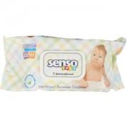 Сенсо Беби влажные салфетки с клапаном 120 шт (Senso Baby)