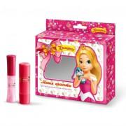 Принцесса набор бальзам для губ (3,5 г): в составе натуральные экстракты, мягкая формула, входящие в состав масло жожоба, витамины Е.