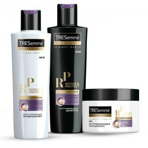 Набор Tresemme подарочный Глубокое восстановление (Repair&Protect) шампунь 230 мл кондиционер 230 мл маска для волос 300 мл.