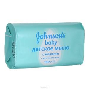 Мыло детское Johnson's baby с молоком содержит нежные смягчающие и увлажняющие компоненты, которые помогают сохранить детскую кожу мягкой.