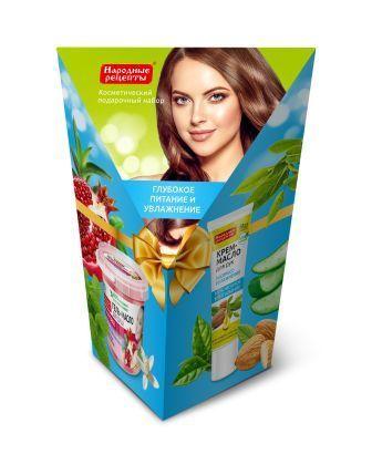 nabor-07-kosmeticheskij-podarochnyj-serii-narodnye-recepty-quot-gel-krem-quot-200-ml