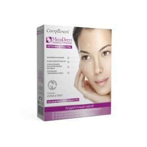 Комплимент набор подарочный (Compliment) №1032 Мезодерм: крем дневной для лица 50мл+крем-концентрат для рук 50мл+матрекс-гель вокруг глаз 25м