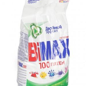 100 пятен стиральный порошок Бимакс (BiMax) 3 кг