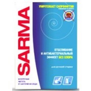 Порошок Sarma Ручная стирка Отбеливание Без хлора 400 г (Сарма)