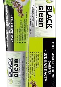 Витэкс паста зубная (Black Clean) отбеливающая+комплексная защита 85 мл