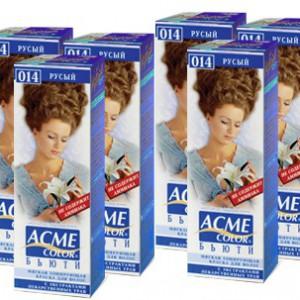 Акме краска для волос (Acme Color) в ассортименте