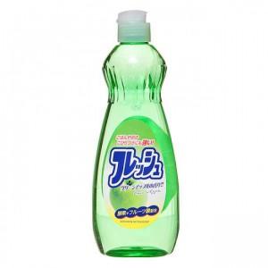 Rocket Soap Fresh для мытья посуды с яблоком, 600 мл (Япония)