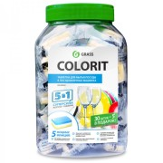 Colorit Grass таблетки для посудомойки 35 шт (Грасс)