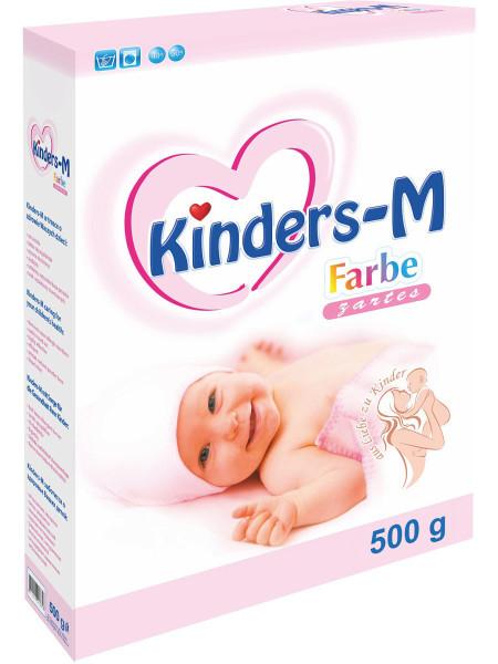 Порошок Киндерс (Kinders M Farbe) для цветного, детский 500 гр (Беларусь)