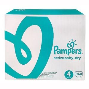 Pampers подгузники 8-14 кг 174 шт (Памперс)