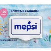 Mepsi салфетки влажные детские 120 шт (Мепси)