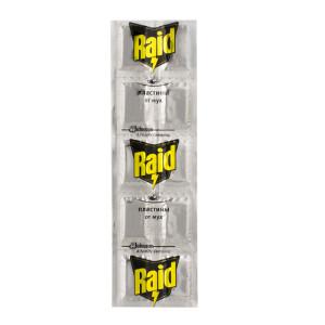 Raid пластины от мух (Рэйд) 10 шт