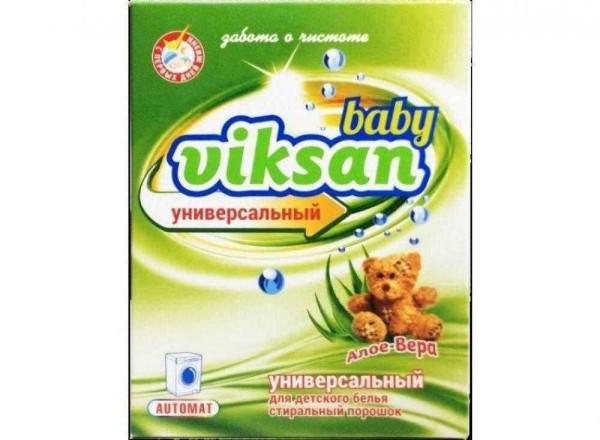 Viksan Baby порошок для детского белья с алоэ (Виксан) 400 гр