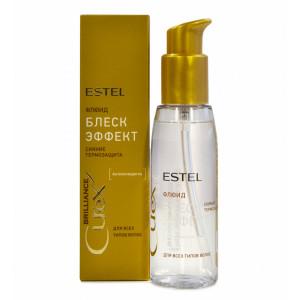 Флюид блеск для волос с термозащитой CUREX BRILLIANCE Estel (Эстель), 100 мл