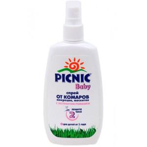 Спрей Picnic Baby от комаров детский 120мл (Пикник)