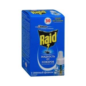 Жидкость Рэйд от комаров 30 ночей (д/фумигатора) Raid