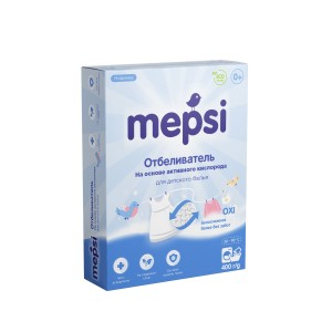 Отбеливатель Mepsi на основе кислорода (Мепси) 400 гр