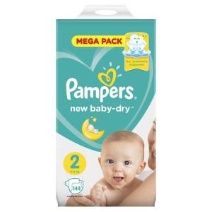 Памперс подгузники 3-6 кг 144 шт (Pampers active baby dry)