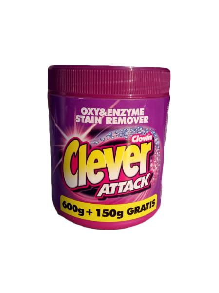 Clever Attack пятновыводитель (Клевер Аттак, Польша) 750гр