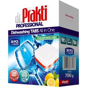 Clovin Таблетки для посудомоечных машин Dr.Prakti 35 шт (Польша)