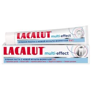 Лакалут Мультиэффект Зубная паста 75 мл(Lacalut)
