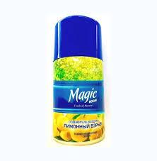 Cменный блок Magic boom для освежителя 250 мл. Лимонный взрыв(Меджик бум)