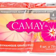 Мыло Камей туалетное Dynamique «Грейпфрут»Camay 4х75 г