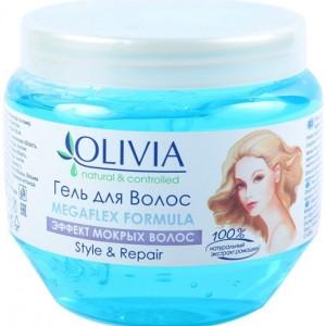 Гель для волос Оливиа (Olivia) эффект мокрых волос 250 мл.